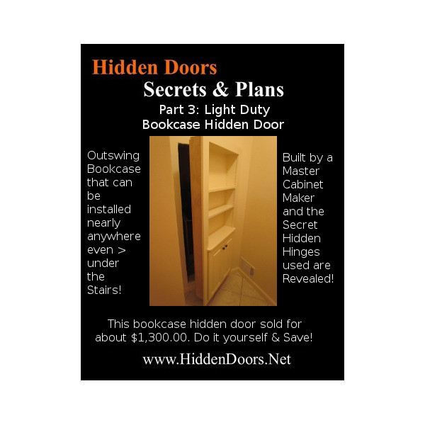 Hidden Door Plans
